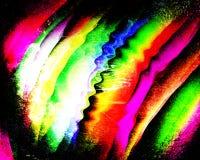 Arco-íris do grunge da cor Imagem de Stock Royalty Free
