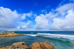 Arco-íris do oceano Foto de Stock