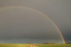 Arco-íris do país Fotos de Stock Royalty Free