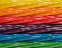 Arco-íris dos doces Imagens de Stock Royalty Free