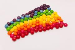 Arco-íris dos doces Fotografia de Stock