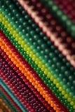 Arco-íris dos gemstones e dos grânulos Imagem de Stock