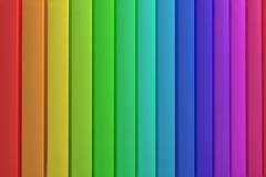 Arco-íris dos painéis Foto de Stock Royalty Free