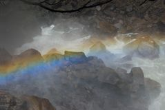 Arco-íris e angra fotos de stock royalty free