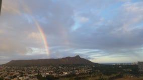 Arco-íris em Diamondhead Fotos de Stock Royalty Free