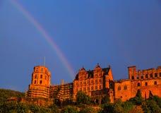 Arco-íris em Heidelberg Fotos de Stock