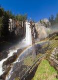 Arco-íris em quedas Vernal Foto de Stock Royalty Free
