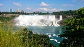Arco-íris EUA de Niagara Falls Foto de Stock