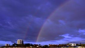 Arco-íris gêmeo Imagem de Stock