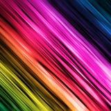 Arco-íris linear espectral imagem de stock