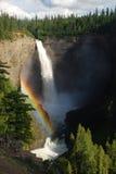 Arco-íris no Columbia Britânica Imagens de Stock
