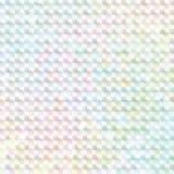Arco-íris pálido etiqueta colorida do holograma ilustração royalty free