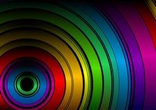 Arco-íris preto Foto de Stock Royalty Free