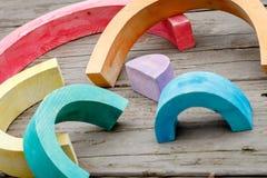 Arco-íris quebrado Fotos de Stock