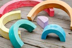 Arco-íris quebrado Imagens de Stock