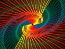 Arco-íris Spriral ilustração do vetor