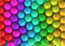Arco-íris XL do Bauble do Natal Imagens de Stock Royalty Free