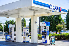 ARCO βενζινάδικο Στοκ Φωτογραφία