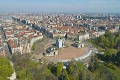 Arco ρυθμός della στο Μιλάνο, Ιταλία Στοκ Εικόνες