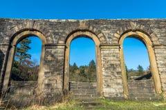 Arco abandonado Windows Foto de Stock