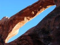 Arco abstrato Fotografia de Stock Royalty Free