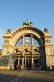 Arco alla stazione ferroviaria a Lucerna Immagine Stock