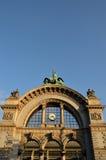 Arco alla stazione ferroviaria a Lucerna Fotografia Stock