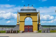Arco amarelo Imagens de Stock
