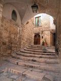 Arco antico in Oldtown di Giovinazzo. Apulia. Fotografia Stock Libera da Diritti