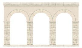 Arco antigo clássico 1 ilustração royalty free
