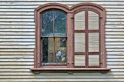 Arco antiquado Windows Imagens de Stock