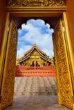 Arco, arco del tempio, arco tailandese del tempio Immagine Stock Libera da Diritti