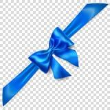 Arco azul con diagonalmente la cinta libre illustration