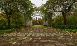 Arco blanco Imagen de archivo libre de regalías