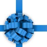 Arco blu attuale Immagini Stock