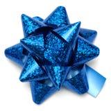 Arco blu del regalo illustrazione vettoriale