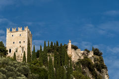 Arco Castle, Italy Stock Images