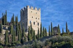 Arco Castle stock photo