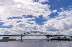 Arco central del puente de Blatnik Fotografía de archivo libre de regalías