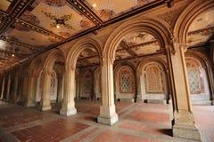Arco in Central Park Immagine Stock Libera da Diritti