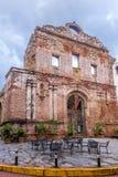 Arco Chato en Casco Antiguo - ciudad de Panamá, Panamá Fotografía de archivo