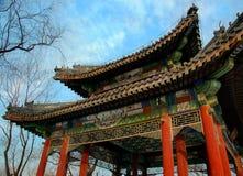 Arco cinese Immagini Stock