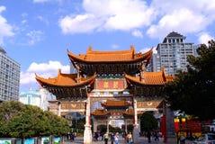 Arco cinese antico Fotografia Stock Libera da Diritti