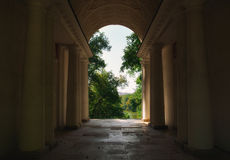 Arco com colunas Imagem de Stock Royalty Free