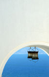 Arco com luz Imagem de Stock Royalty Free
