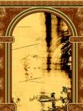 Arco com ornamento ilustração do vetor