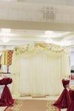Arco com orquídeas Imagens de Stock