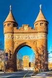 Arco commemorativo dei marinai e dei soldati a Hartford Fotografia Stock