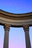 Arco con las columnas foto de archivo