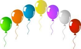 Arco con los globos Fotos de archivo libres de regalías